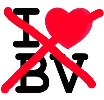 I Love BV NOT