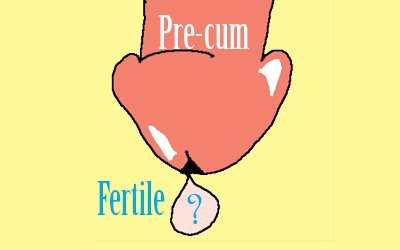 Aunt Vadge: how fertile is pre-cum?