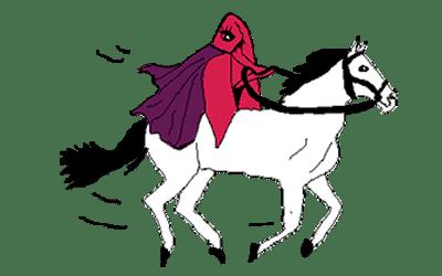 Vagina Riding a Horse