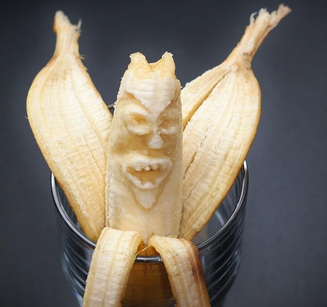 banana in vagina